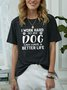 I Work Hard For My Dog Women's T-Shirt