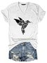 Hummingbird Flower Totem Graphic Tee